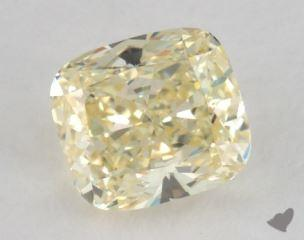 cushion0.54 Carat  yellowVS1