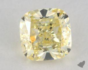 cushion0.52 Carat  yellowVS1
