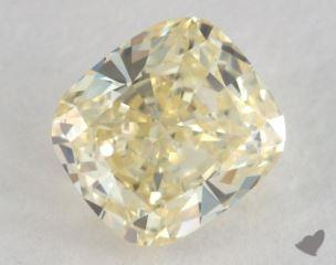 cushion0.50 Carat  yellowVS1