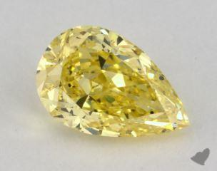 pear0.71 Carat  yellowSI2