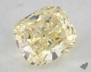 cushion0.81 Carat  yellowVVS1
