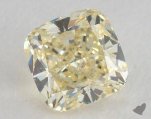 cushion0.71 Carat  yellowIF