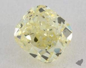 radiant0.91 Carat fancy light yellowSI1
