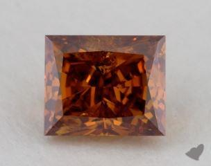 princess0.81 Carat fancy deep SI2