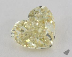 heart1.20 Carat fancy yellowSI1