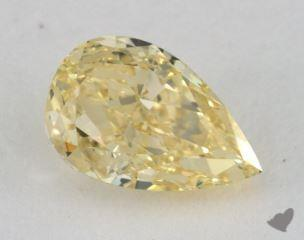 pear1.51 Carat fancy yellowVS2