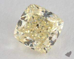 cushion2.50 Carat fancy yellowSI2