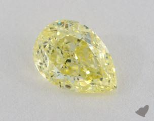 pear1.00 Carat fancy yellowVVS1