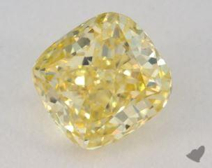 cushion1.20 Carat fancy intense yellowVS2