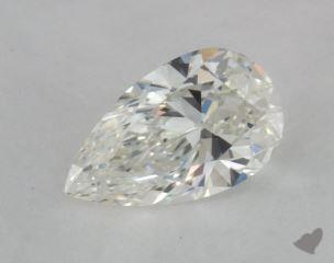 pear0.50 Carat GVS2