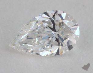 pear0.50 Carat DVS2