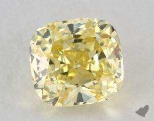 cushion1.18 Carat  yellowVVS1