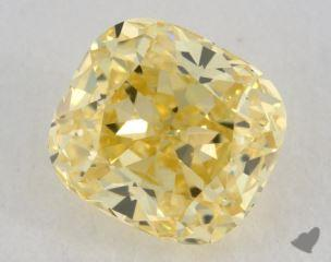 cushion1.06 Carat  yellowIF