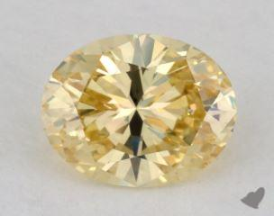 oval0.67 Carat  yellowVS2