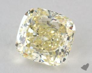 cushion3.20 Carat  yellowVS2