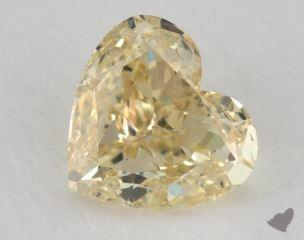 heart2.31 Carat  yellow