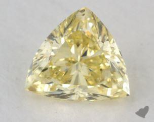 trilliant1.06 Carat  yellow