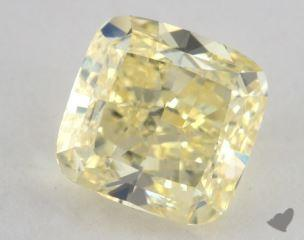 cushion1.90 Carat fancy yellowVS2