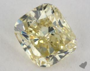 cushion2.00 Carat fancy yellowSI1