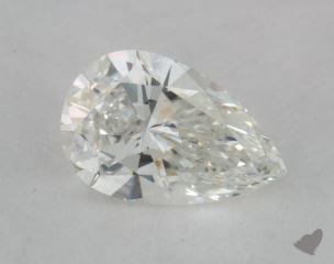 pear0.51 Carat HVS1