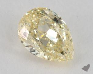 pear1.70 Carat fancy yellowIF