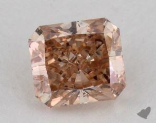 radiant1.24 Carat fancy pinkSI1