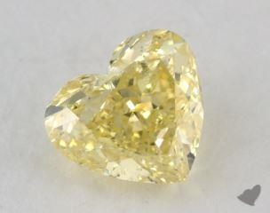 heart1.52 Carat fancy intense yellowSI2