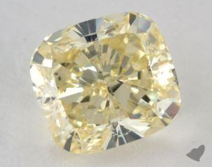 cushion2.03 Carat fancy yellowSI1
