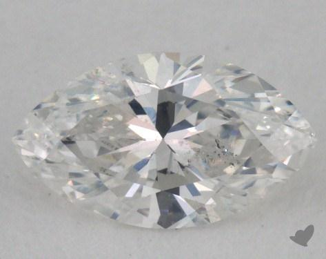<b>0.51</b> Carat E-I1 Marquise Cut Diamond