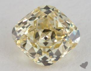 cushion1.67 Carat fancy yellowVS1