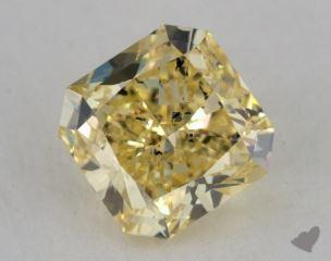 radiant1.54 Carat fancy intense yellowI1