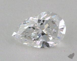 pear0.62 Carat DSI1
