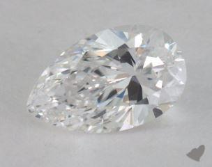 pear0.82 Carat DVS1
