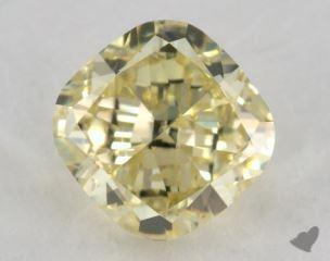 cushion2.37 Carat fancy yellowI1