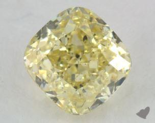 cushion2.33 Carat fancy intense yellowSI1
