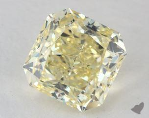 radiant4.35 Carat  yellowVS2