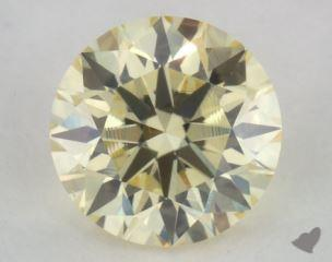 round0.50 Carat light yellowVS2