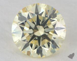 round0.55 Carat light yellowVS2