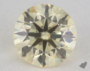 round0.55 Carat light yellowVS1