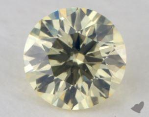 round0.43 Carat light yellowSI1