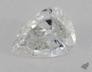 pear0.85 Carat FSI1