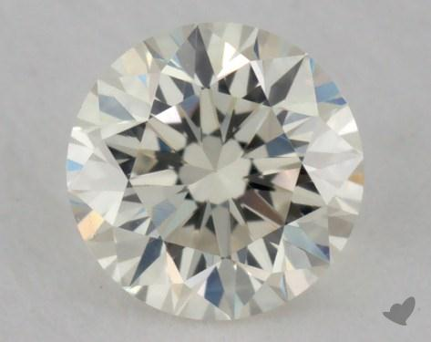 <b>0.31</b> Carat K-VVS2 Very Good Cut Round Diamond