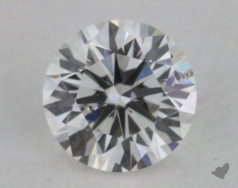<b>0.34</b> Carat E-I1 Very Good Cut Round Diamond