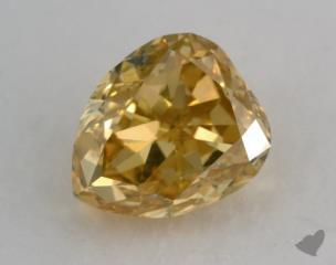 pear1.52 Carat fancy deep yellowVS2