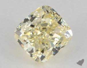 cushion1.61 Carat  yellowVS2