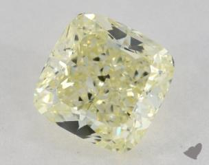 cushion3.04 Carat  yellowSI1