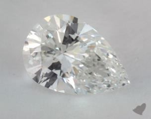 pear2.03 Carat HVS1