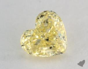heart0.62 Carat fancy intense yellowSI1