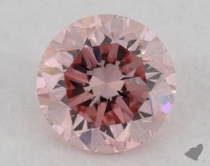 round0.24 Carat fancy purplish pink