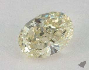 oval0.76 Carat fancy light greenish yellowSI1